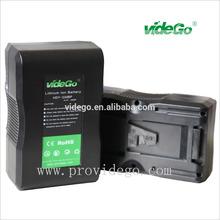 LED indication video light use V-mount 230Wh gold mount camera battery