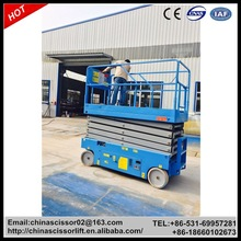 Cheap Self-propelled Electric Hydraulic Lift