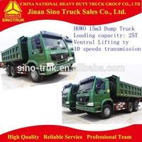 HOWO dumper, off road truck, 10 wheeler trucks
