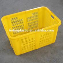 Hot sale rectangular plastic storage basket shopping container wholesale