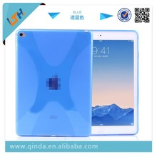 QinD Soft TPU case for iPad air 2, for ipad air 2 cover, tablet case for ipad air 2