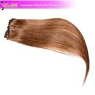 100% Brazilian kinky Straight Hair Clip-on Hair Extension