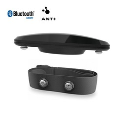 Dual Mode Bluetooth 4.0 and ANT+ Heart Rate Monitor with Soft Strap