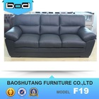 Modern Sectional sofa set home furniture leather product import from china F19