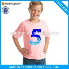OEM Popular Casual Comfort Soft Cotton Tshirt For Boys Custom Printing