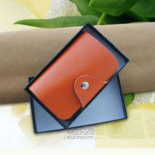 Promotion Leather High Quality business men name card holder set