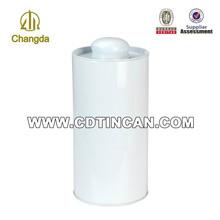 Popular design round tin jerry can