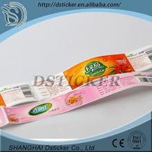 Self adhesive Cosmetic Printed Adhesive Sticker