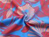 Full dull nylon spandex printed swimwear or sports wear fabric