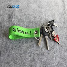 branded printed felt keychain craft