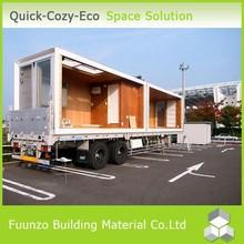 Demountable Mobile Prefabricated Trailer Houses Folding