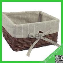 Alta- qualità squisita ingrosso paglia cestini di pane, cestino del pane