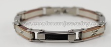 high grade cable stainless Steel Mens bracelet