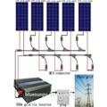 Bluesun expertised Solarunternehmen liefern 5 jahre garantie 1kw inselanlagen solar-tracker-system preis