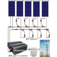Bluesun expertised solar company supply 5years warranty 1kw off grid solar tracker system price