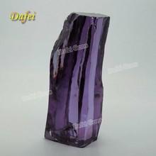 Beautiful Amethyst Cubic Zirconia Rough Gemstone