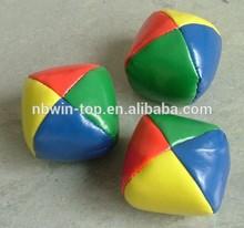 Soft Low Price Kick Ball Basketball Funny Custom Sandbags Ball Top Sale Custom Leather Juggling Ball