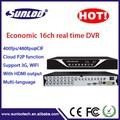 économique autonome h. 264 16ch dvr. full d1 h264 16ch enregistreur dvr