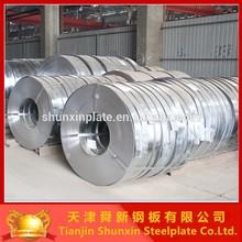 fabrica de la tira de acero galvanizada