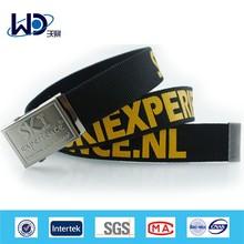 Advertising customized logo printed webbing belts