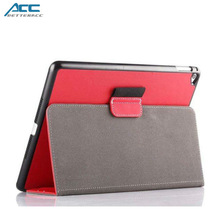 2015 Hot selling fashionable flip leather case for iPad air 2