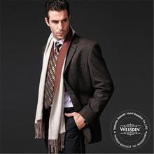 Anti - estático atacado 100% lã fria terno do casamento para homens