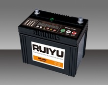 80D26R 12V70AH JIS Standard maintenance free lead acid automotive battery