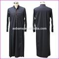 vestuário muçulmano thobe árabes thawb robe abaya jubba para homens