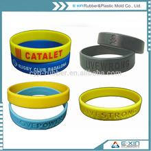 silicone bracelet mold /silicone bracelet monster energy/promotional silicone wristband