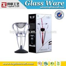 Borosilicate glass carafe/glass decanter/handmade glass ware