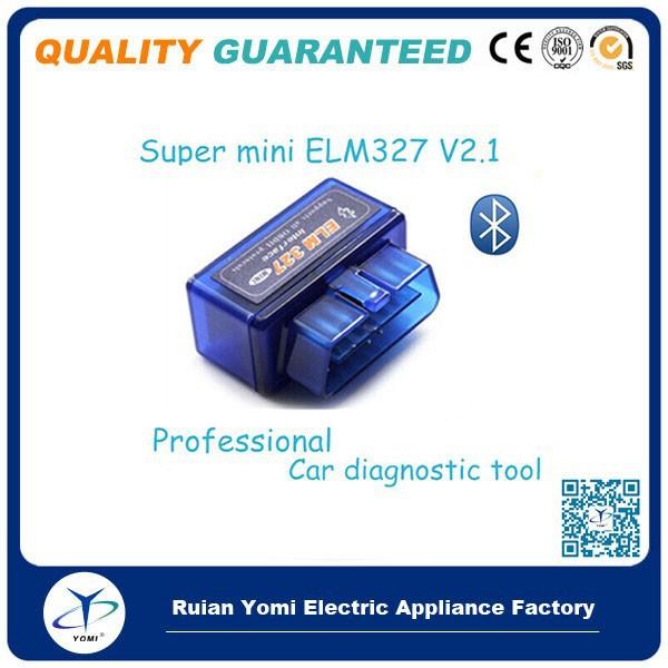Mini327 v15 obd2 bluetooth auto scanner obd-ii diagnostic tool support android and symbian mini elm327 obd scan