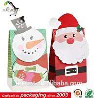 Handmade Christmas Gift Art Paper Bag For Candys