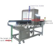 Conveyor metal detector. metal detector for food and weight control