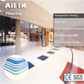 liso brilhante durável eco friendly pisosde plástico túmulo de decoração