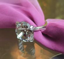 Beautiful Crystal crystal diamond napkin ring for wedding