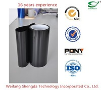 Silicone coated PET release film red,blue,black colors
