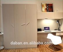 Computer desk and wardrobe combination design
