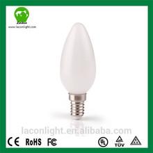 New successful development 80cri Dimmable 4w E14 Led Candle Light E27 E12 cool white