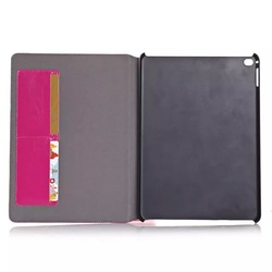 hot protective back cover for ipad 6/genuine leather back cover for ipad 6