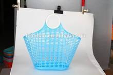 PE handle plastic basket various plastic basket new plastic food basket