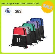 Factory supplies a variety of fashion packing,nylon shopping bag,nylon drawstring sportpack bag