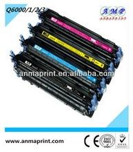Alibaba laser jet printer toner cartridge Q6000A series compatible for HP printer toner