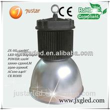 IP65 150w led high bay light fitting white color JX-HBA-200WG