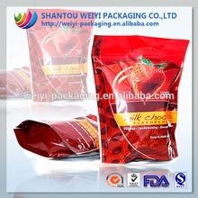 Segurança alimentar impresso natural lanche embalagem