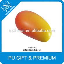 best selling popular pu mango foam stress balls