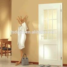glazed glass wooden door design
