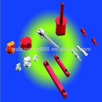 Aluminum scaffold tube rectangular tube aluminum multi-port extruded aluminum tubes exporter