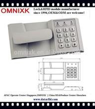PW210 hot sale zinc alloy keypad digital lock for golf course cabinet
