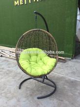 MH-53 outdoor indoor wicker hanging chair rattan swing chair