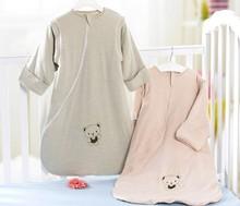 Organic colored cotton baby sleeping bag